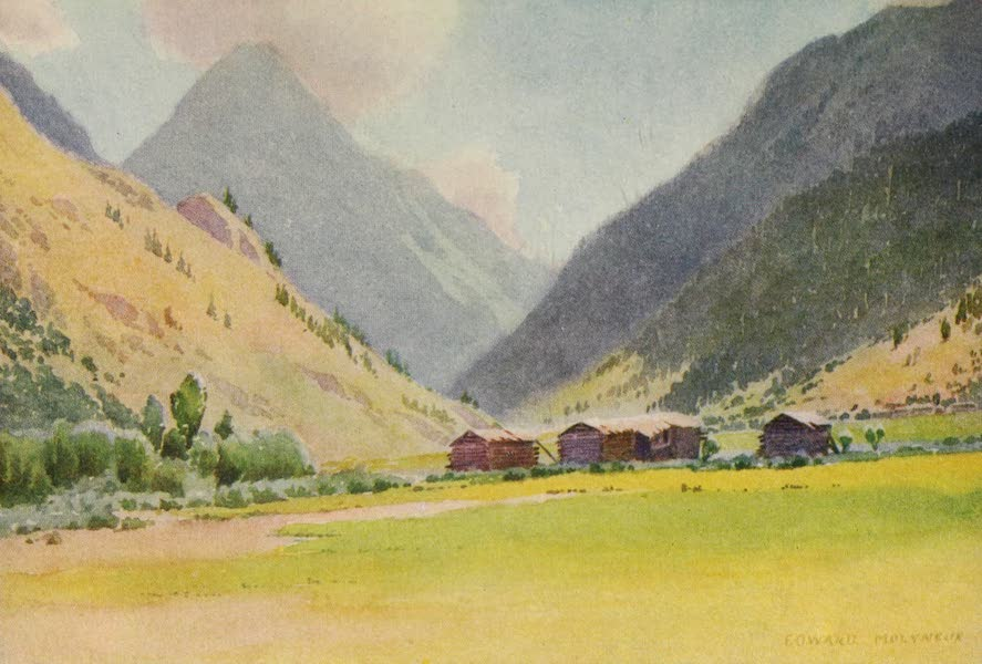 Kashmir, Painted and Described - The Valley of Gurais (1911)