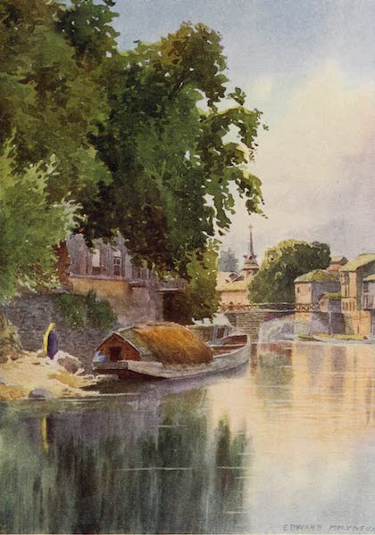 Kashmir, Painted and Described - Above the Fifth Bridge, Srinagar (1911)