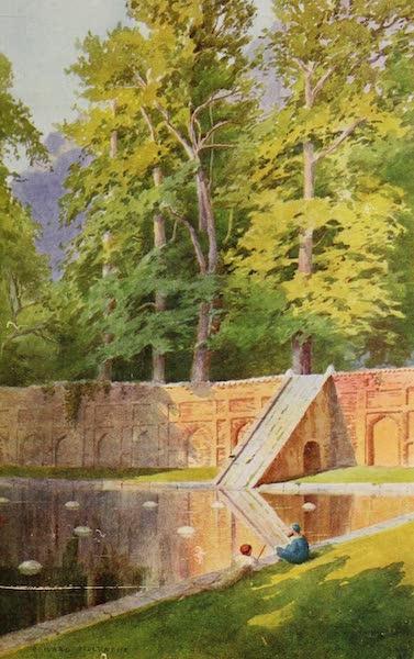 Kashmir, Painted and Described - Shalhnar Gardens (1911)