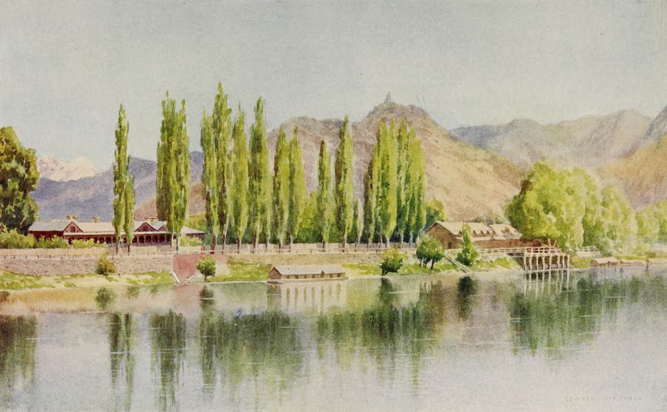 Kashmir, Painted and Described - The Nishat Bagh (1911)