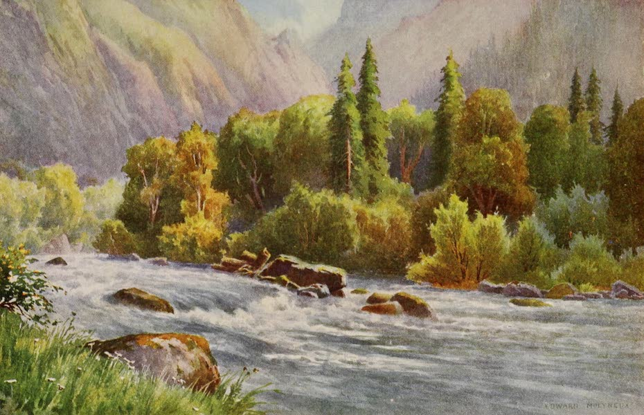 Kashmir, Painted and Described - Gorge of the Sind Valley at Guggangir (1911)