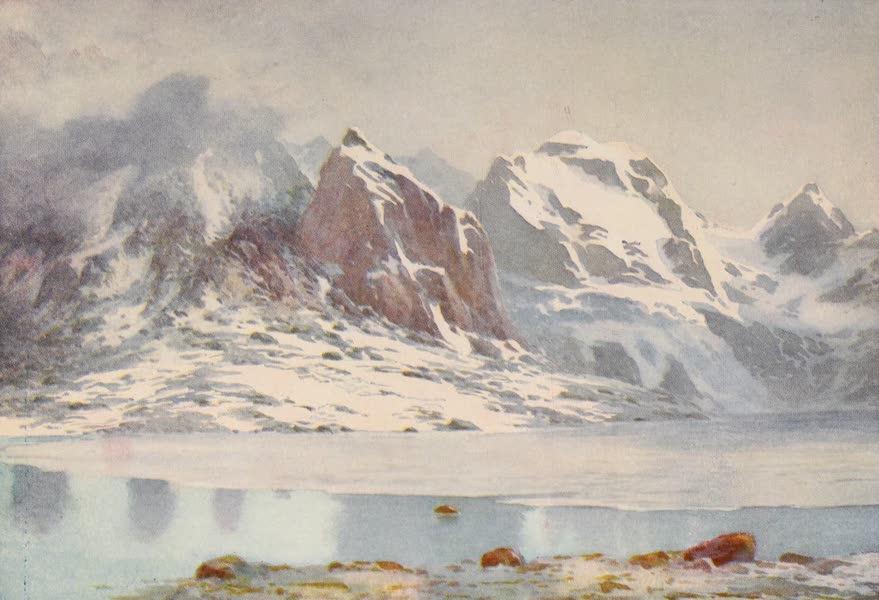 Kashmir, Painted and Described - The Frozen Lake, Gangabal (1911)