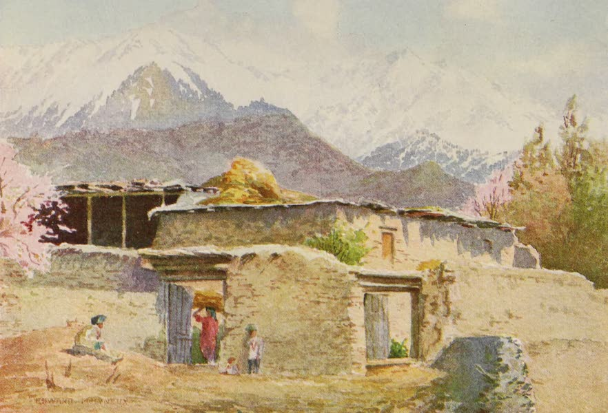 Kashmir, Painted and Described - A Mountain Farm-House (1911)
