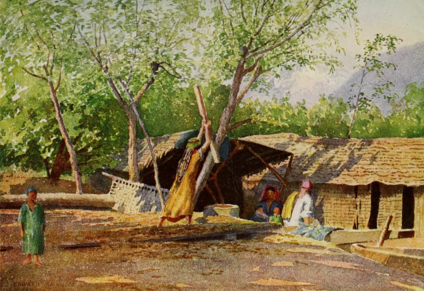 Kashmir, Painted and Described - A Boatman and his Family (1911)