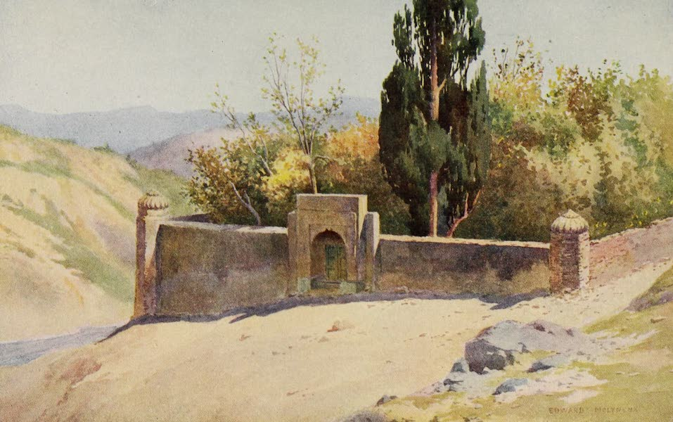 Kashmir, Painted and Described - Lalla Rookh's Tomb, Hassan Abdal (1911)