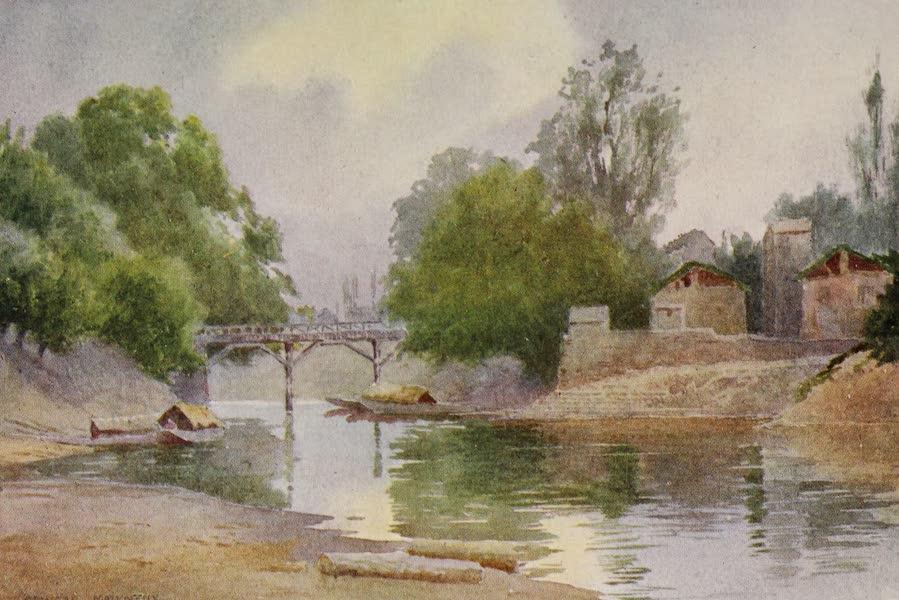 Kashmir, Painted and Described - Bridge of Burbur Shah, Chenar Bagh, Srinagar (1911)