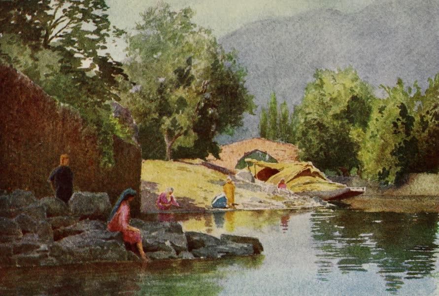 Kashmir, Painted and Described - Akbar's Bridge, Karallayar (1911)