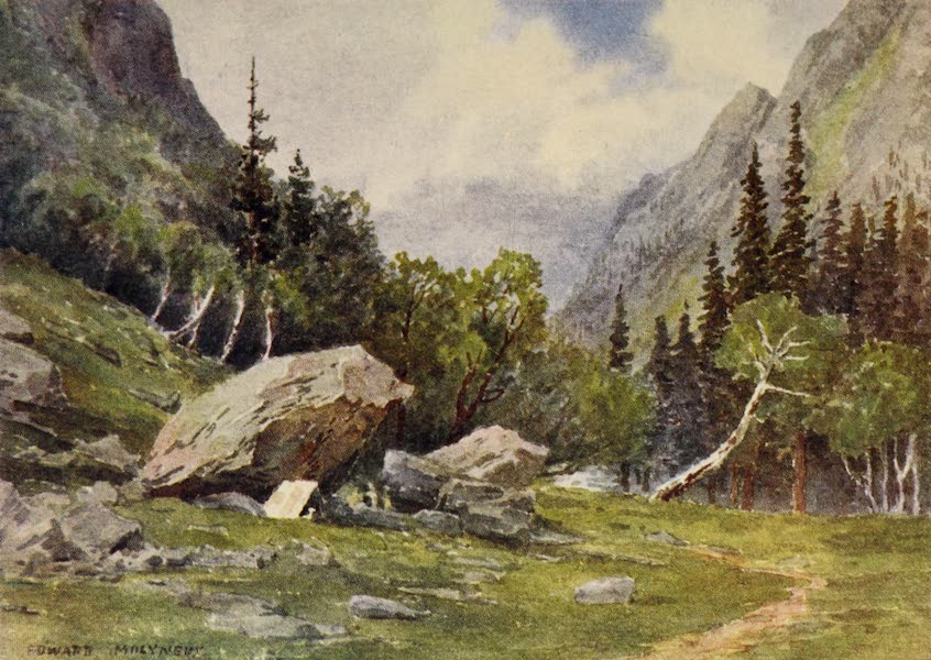Kashmir, Painted and Described - The Camping-Ground at Lidarwat (1911)