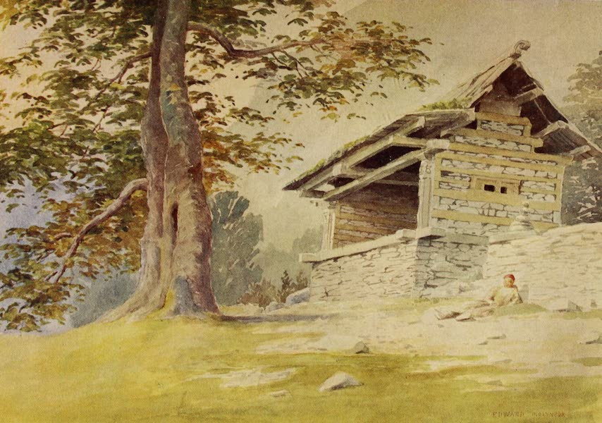 Kashmir, Painted and Described - A Wayside Shrine (1911)