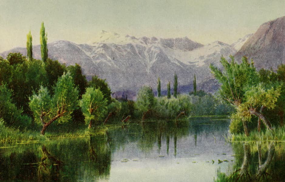 Kashmir, Painted and Described - Evening on the Dal Lake (1911)