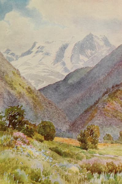 Kashmir, Painted and Described - Mount Haramokh, from the Erin Nullah (1911)