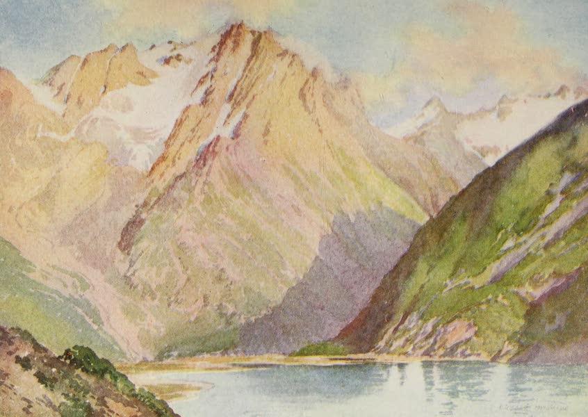 Kashmir, Painted and Described - Lake Shisha Nag, Lidar Valley (1911)