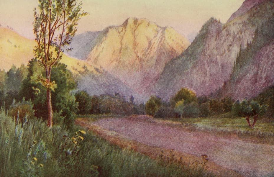 Kashmir, Painted and Described - Rampur, Jhelum Valley Road (1911)
