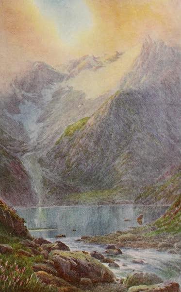 Kashmir, Painted and Described - Lake Shisha Nag at Sunset (1911)