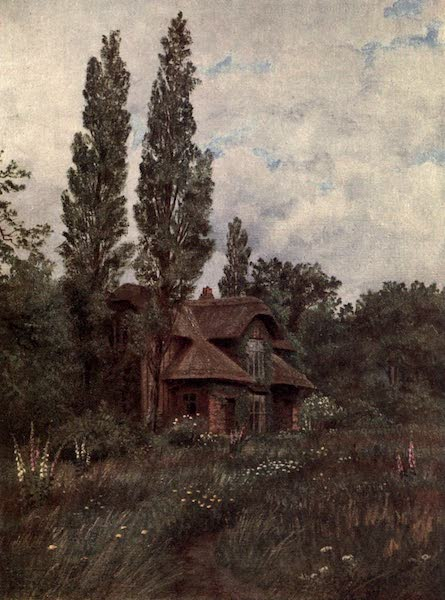 Kew Gardens, Painted and Described - The Queen's Cottage (1908)