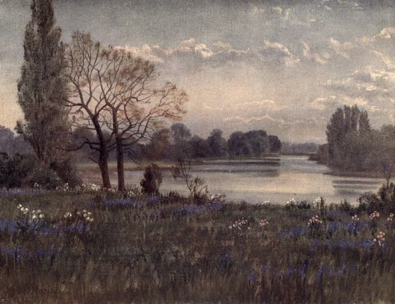 Kew Gardens, Painted and Described - Looking up the Thames (1908)