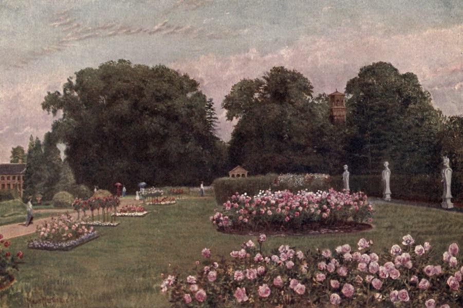 Kew Gardens, Painted and Described - In the Italian Garden (1908)