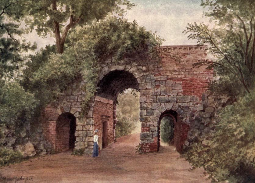 Kew Gardens, Painted and Described - The Ruined Arch (1908)