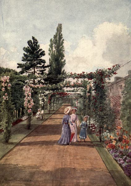 Kew Gardens, Painted and Described - The Rosary (1908)