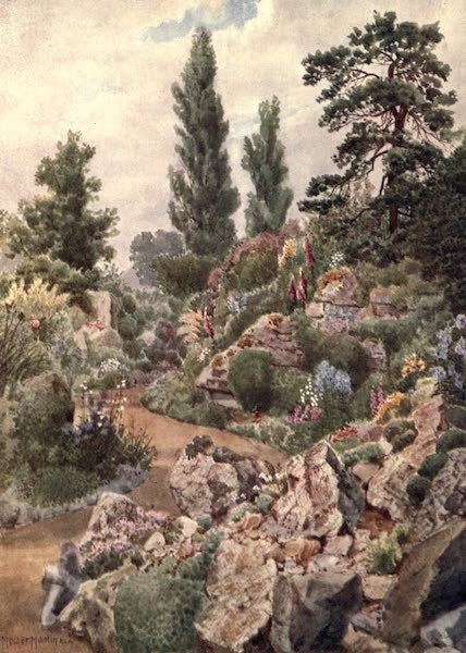 Kew Gardens, Painted and Described - In the Rock Garden (1908)