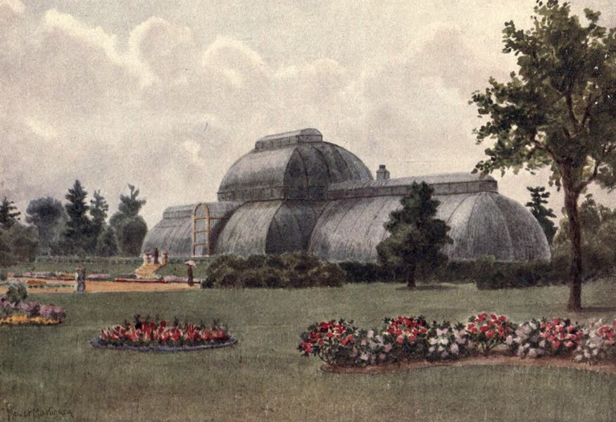 Kew Gardens, Painted and Described - The Palm House (1908)