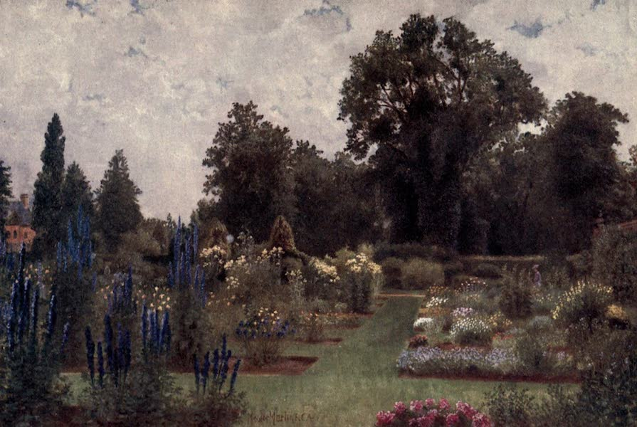 Kew Gardens, Painted and Described - The Herbaceous Ground (1908)
