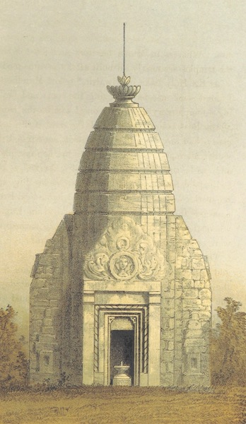 Kulu: It's Beauties, Antiquities and Silver Mines - Ancient Temple at Bajara (1873)