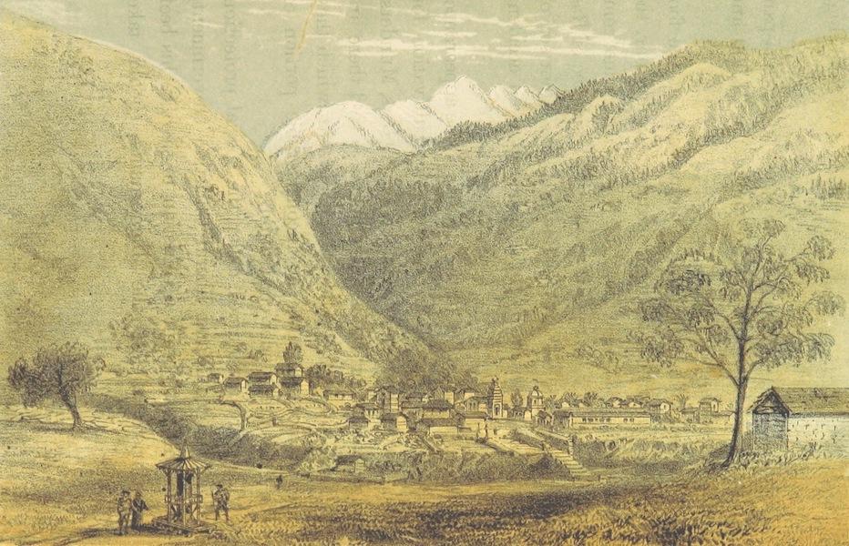 Kulu: It's Beauties, Antiquities and Silver Mines - View of Sultanpure, Kulu (1873)