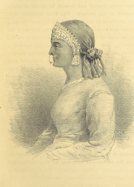 Kulu: It's Beauties, Antiquities and Silver Mines - The Silver Tiara - A Native Lady (1873)