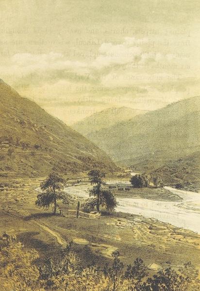 Kulu: It's Beauties, Antiquities and Silver Mines - The Lahoul Bazaar below Sultanpur on the Beas (1873)