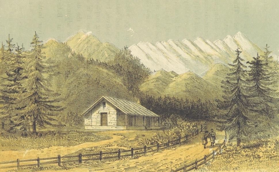 Kulu: It's Beauties, Antiquities and Silver Mines - Rest House at Manali, Kulu (1873)