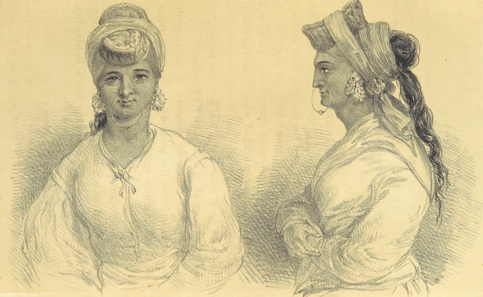 Kulu: It's Beauties, Antiquities and Silver Mines - Kulu Women at Manali Fair - A Likeness (1873)