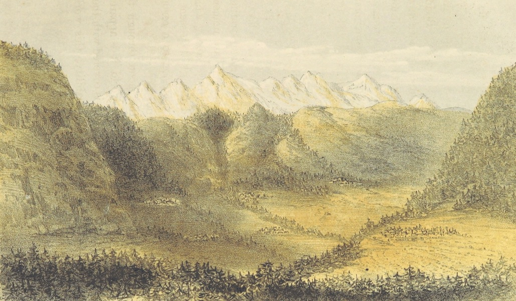 Kulu: It's Beauties, Antiquities and Silver Mines - Down Kulu Valley from Manali Forest (1873)
