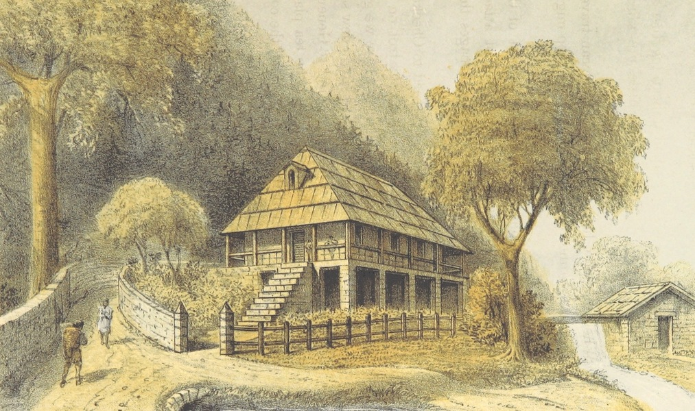 Kulu: It's Beauties, Antiquities and Silver Mines - Mr. Knox's House, Jugget Sound (1873)