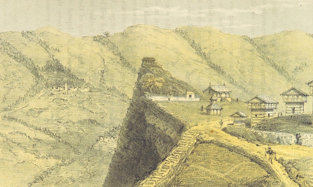 Kulu: It's Beauties, Antiquities and Silver Mines - Chong Fort - Parbutti Valley - Chamaun Opposite (1873)