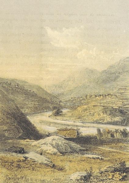 Kulu: It's Beauties, Antiquities and Silver Mines - The Chata River between Simla and Kulu (1873)