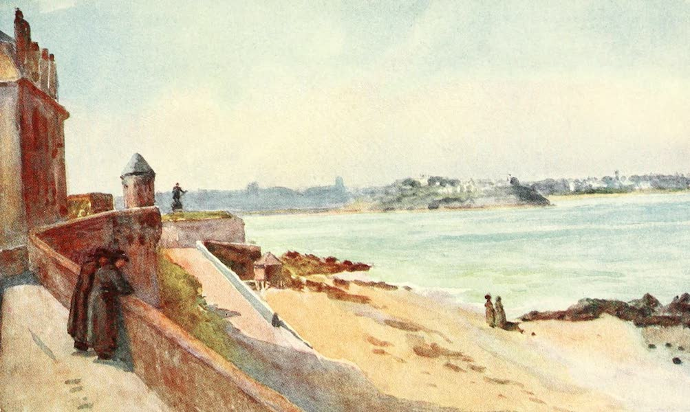 La Côte d'Émeraude, Painted and Described - From my Windows, St. Malo (1912)