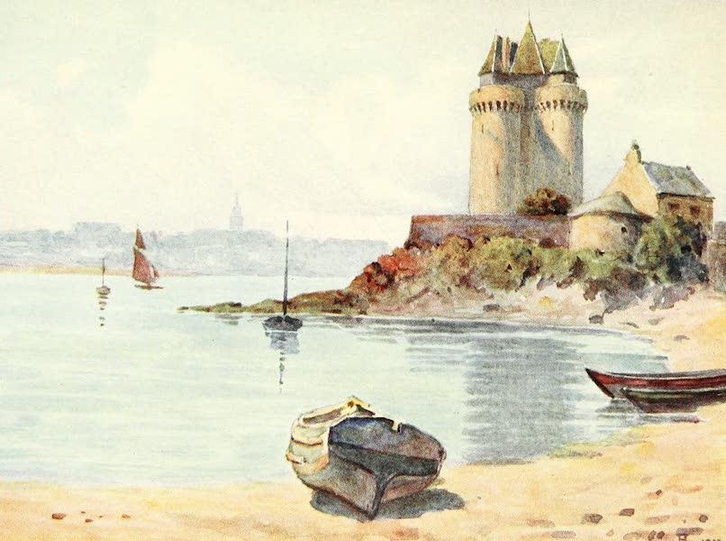 La Côte d'Émeraude, Painted and Described - La Tour Solidor, St. Servan (1912)