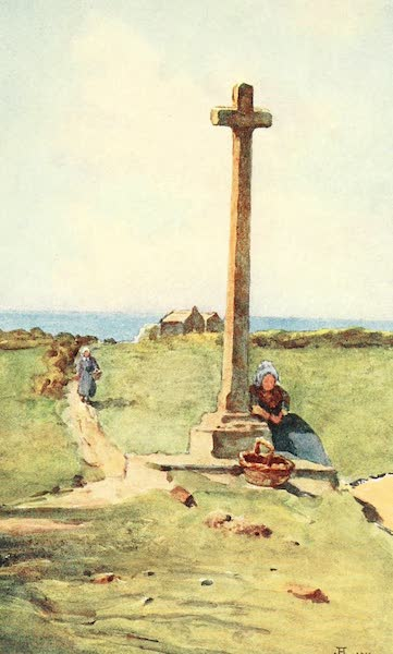 La Côte d'Émeraude, Painted and Described - Oratory of Jacques Carrier (1912)