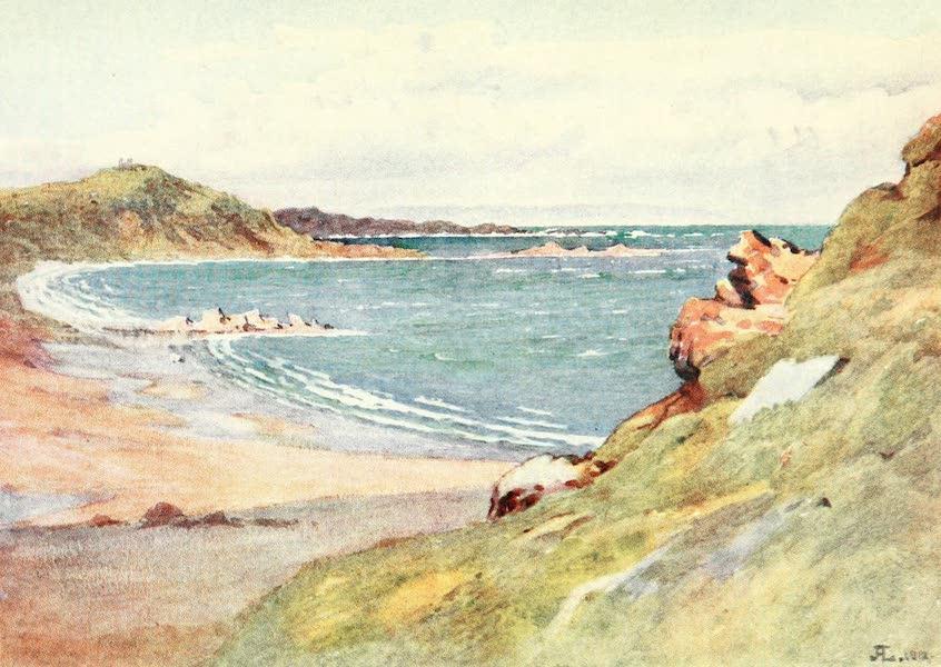 La Côte d'Émeraude, Painted and Described - St. Lunaire, with Cap Frehel in the Distance (1912)