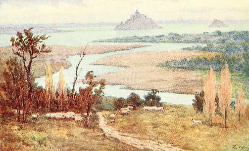 La Côte d'Émeraude, Painted and Described - From the Jardin des Plantes, Avranches (1912)
