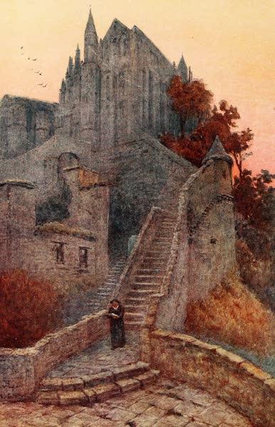 La Côte d'Émeraude, Painted and Described - La Merveille, Mont St. Michel (1912)