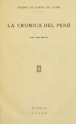 New World - La Cronica del Peru