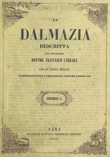 Aquatint & Lithography - La Dalmazia Descritta