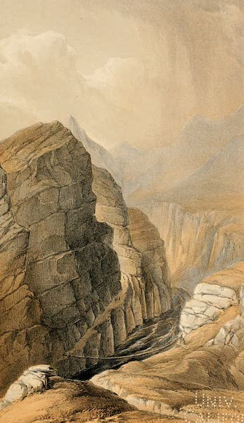 Ladak, Physical, Statistical, and Historical - Bed of the Indus at the Rongdo Bridge (1854)