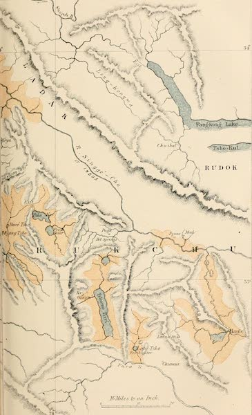 Ladak, Physical, Statistical, and Historical - Ancient Lake System of Ladak (1854)