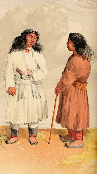 Ladak, Physical, Statistical, and Historical - Men of Pin in Spiti - Zang-bo and Chang-jok (1854)