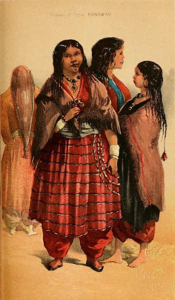 Ladak, Physical, Statistical, and Historical - Back View of Thajang | Thajang, aged 20, 3 husbands, Hango | Landlord's Wife, Sungnam | Girl, aged 14, Liyo (1854)