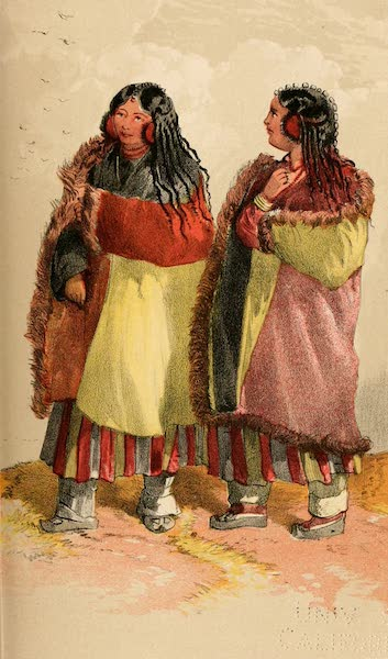 Ladak, Physical, Statistical, and Historical - Landlords Wives from Nurla in Ladak (1854)