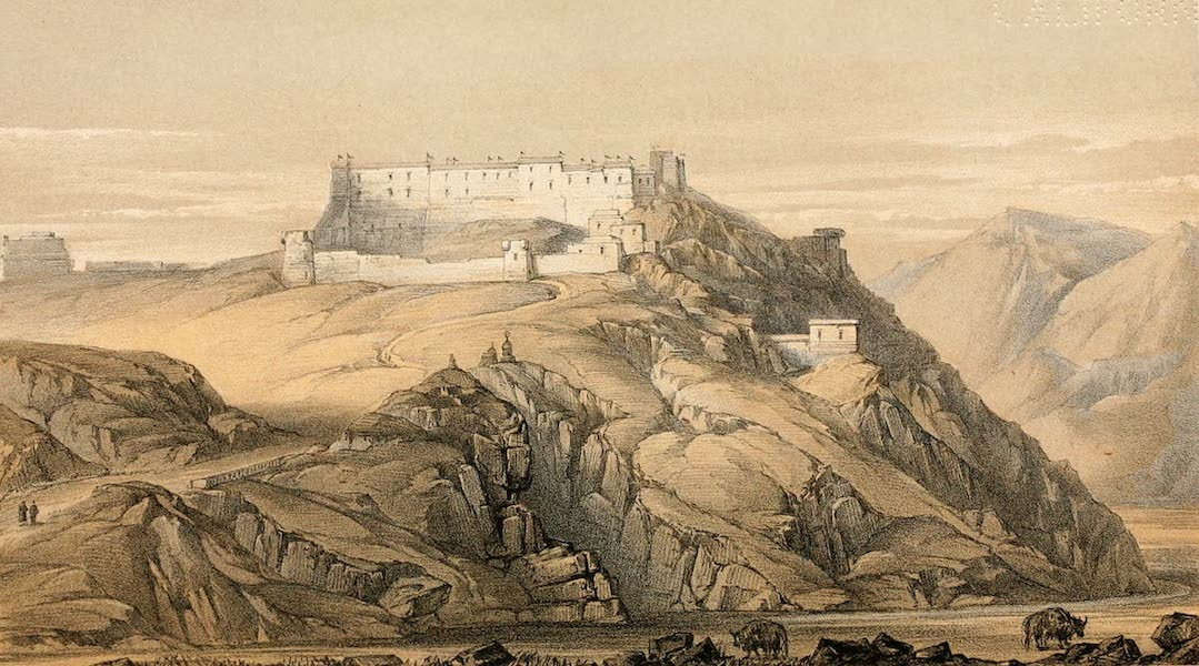 Ladak, Physical, Statistical, and Historical - The Monastery of Hanle, in Rukchu (1854)